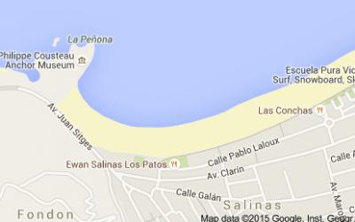Mapa Playa de Salinas