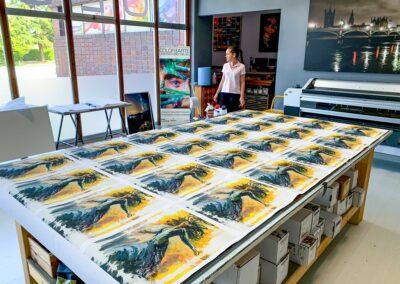 Impresion lienzos fine art Giclèe
